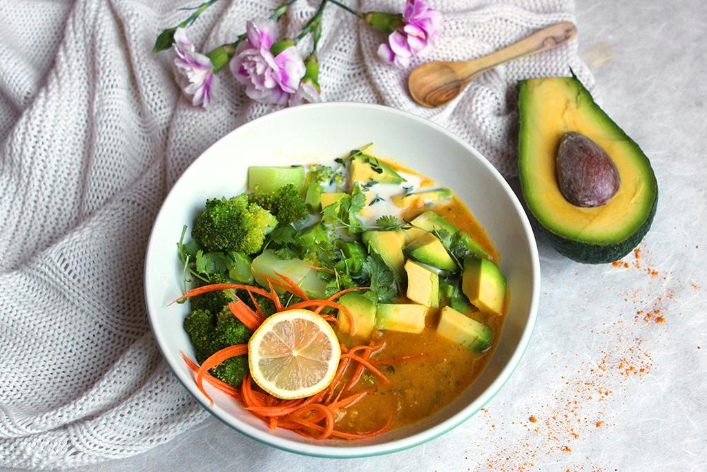 Spicy Lentil Curry Soup