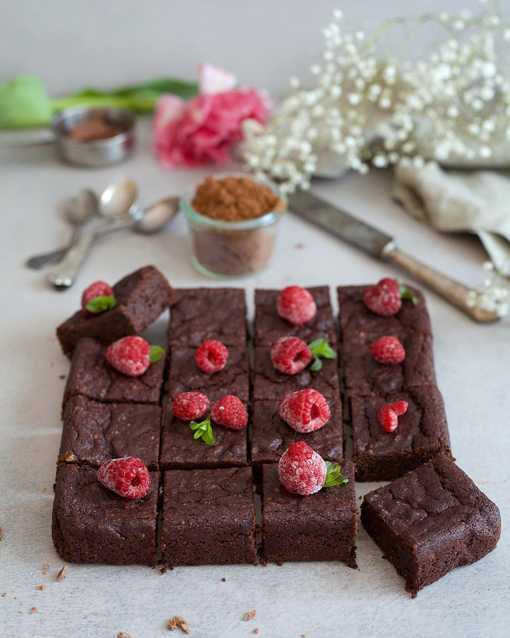 vegan paleo brownies5