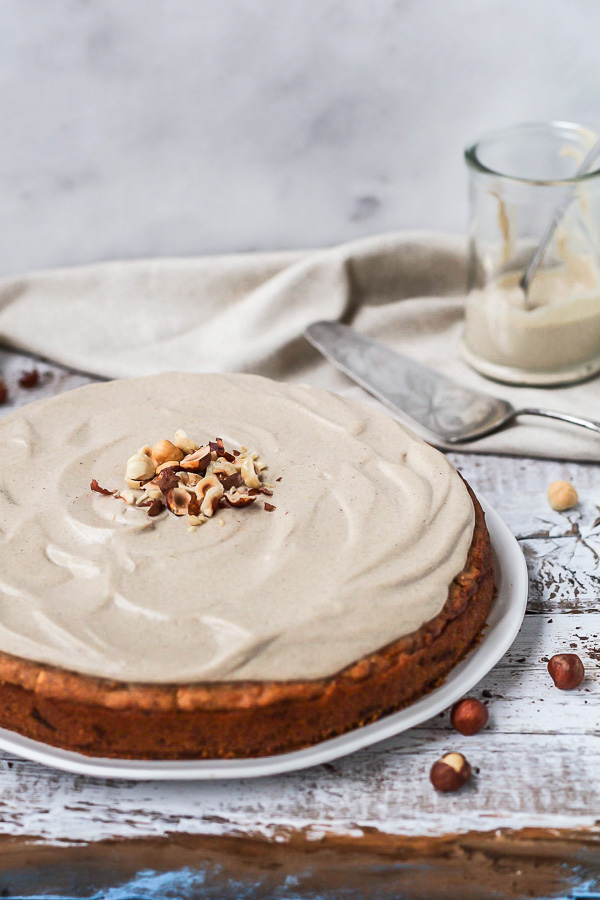 Hazelnut Carrot Cake vegan, refined sugar free, Maja Brekalo