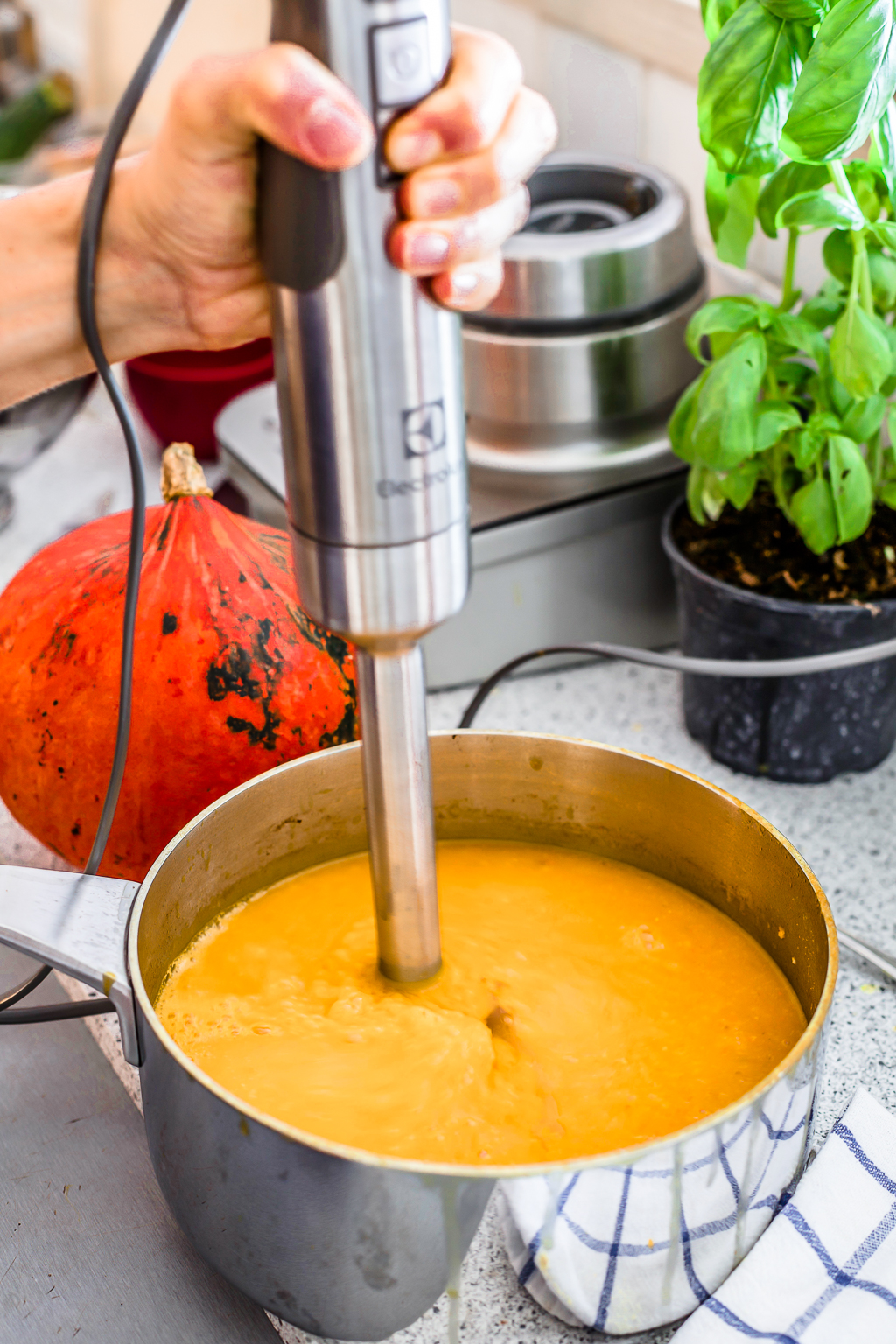 Super Creamy Pumpkin Soup1