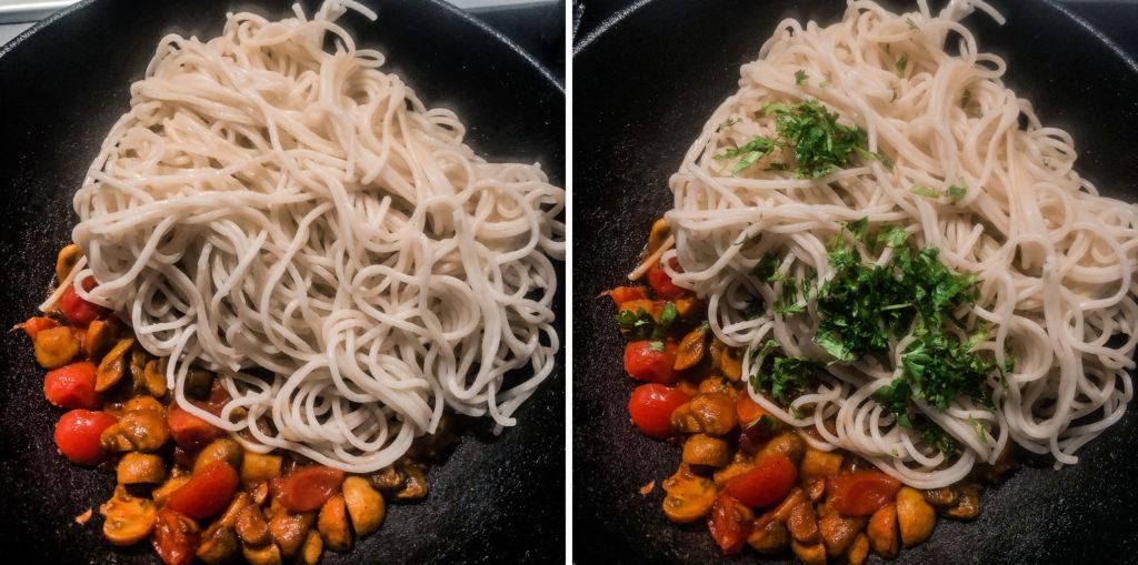 Simple Mushroom Pasta3