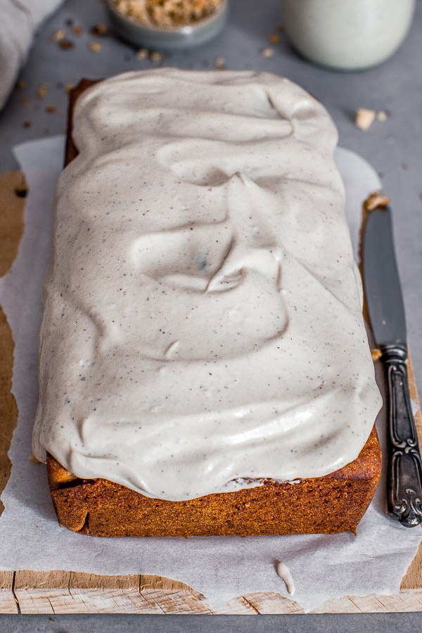 Vegan Carrot Cake with Cashew Cream Frosting, gluten free,  Maja Brekalo
