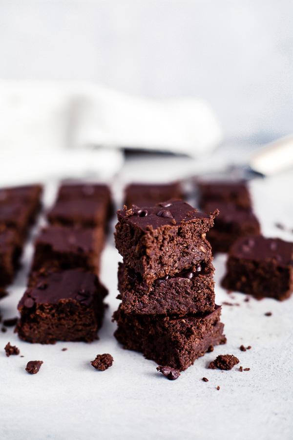 Bean Brownies, Gluten Free Vegan, Maja Brekalo