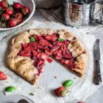 Rustic Vegan Strawberry Galette, Maja Brekalo