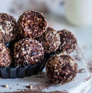 Buckwheat and Chocolate Bliss Balls