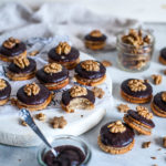 Hazelnut Sandwich Cookies, vegan, refined sugar free